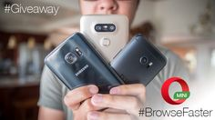 Enter to win one of three phones in this smartphone worldwide giveaway from Opera Mini and Android Authority!