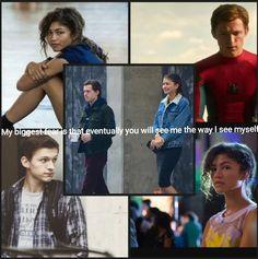 """Spider-Man Homecoming"" Peter & Michelle Jones (""MJ ..."