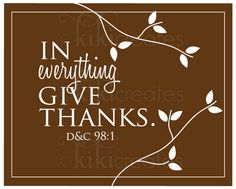 In Everything Give Thanks {Discount Download}