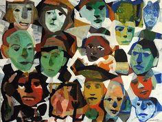 JEAN PIERRE LAROCQUE, Gouache II 2010, gouache sur papier / gouache on paper