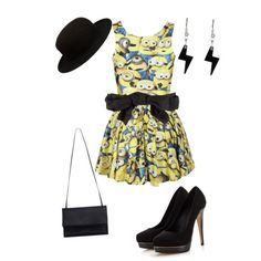 A fashion look from October 2014 featuring Lipsy pumps, Zimmermann handbags and Tatty Devine earrings. Browse and shop related looks.