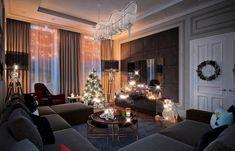 Добрый вечер! Вы же просили Новый Год!!! И мы сделали вечерний вариант новогоднего интерьера