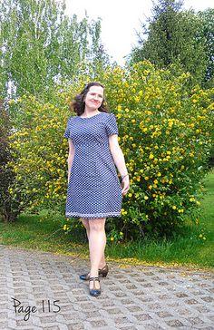 """Kleid Megan aus dem Buch """"Liebe auf den ersten Stich"""" Megan dress from the book """"Love at first Stitch"""""""