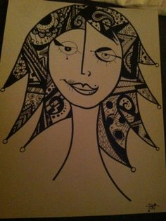 Sharpie Art by Toni Paxton