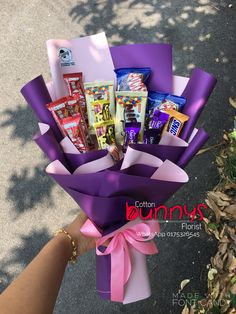 Order or enquiry's please Whatsapp us No : We provide delivery for Penang Kedah Kl Selangor (Selected Area) Candy Bouquet Diy, Food Bouquet, Gift Bouquet, Chocolate Bouquet Diy, Best Birthday Surprises, Graduation Bouquet, Chocolate Pack, Edible Bouquets, Easy Cupcake Recipes