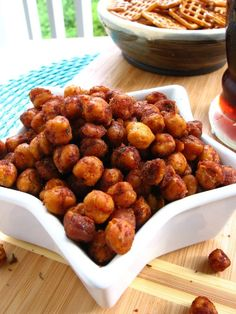 chilli lime roasted chickpeas