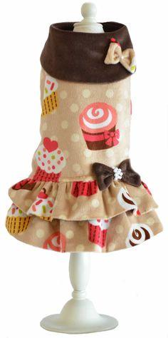 Modelo Cupcake , moda canina exclusiva de Toutmignon.net  Ropa para perros.