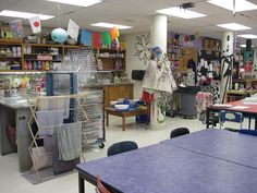 Name: Jennifer Leban School: Sandburg Middle School Town: Elmhurst State: Illinois sandburg-elmhurstcusd205-il.schoolloop.com/art  Rest of the sink area, drying rack, and four more pottery wheels.