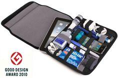 Funda de neopreno para cualquier tablet: también puedes guardar todos los accesorios que necesites en el mínimo espacio!