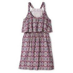 Xhilaration® Junior's Latern Dress - Assorted Colors