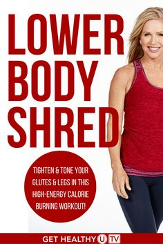 Check out this Lower Body Shred workout at GHUTV! Get your body moving and that lower body whipped into shape with Chris Freytag's high-energy, calorie-busting workouts!