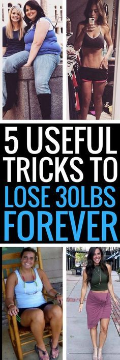 5 simple tricks to help you lose weight for good.