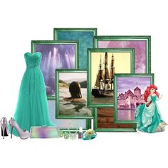 """""""Ariel"""" - formal gown  by srta-sr on Polyvore - The Little Mermaid"""