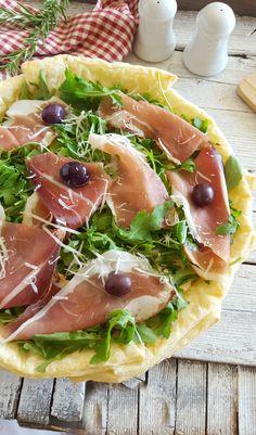Ricotta, Crepes, My Favorite Food, Favorite Recipes, Pizza Rustica, Savoury Cake, Kefir, Antipasto, Italian Recipes