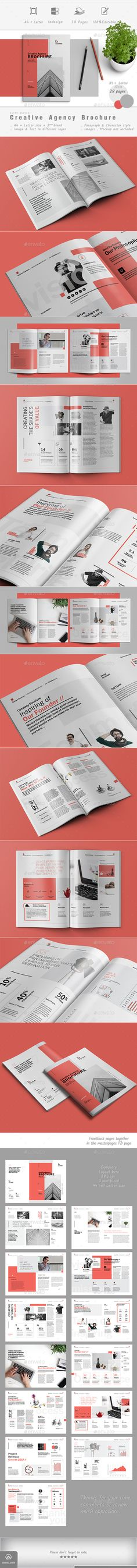Corporate Brochure — InDesign INDD #annual report #company brochure • Download ➝ https://graphicriver.net/item/corporate-brochure/19049882?ref=pxcr