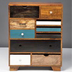 Eclectic dresser