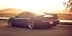 Beautiy Sunset NSX