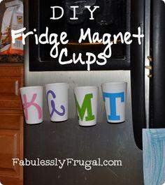 fridge cups