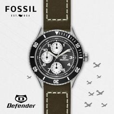 Check out my Defender watch! Made it all by myself!