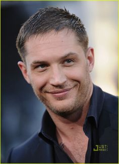 If you ask me, Tom Hardy has one of the most beautiful smiles that I've ever seen. :)