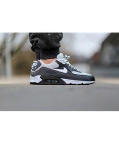 廉价的耐克空气最大90基本灰雾黑色教练 Air Max 90 Sale, Mens Shoes Online, Cheap Nike Air Max, Sale Uk, Mens Nike Air, Mens Sale, Cheap Shoes, Men's Shoes, Trainers