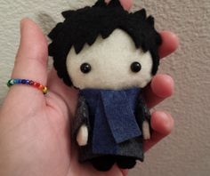 Please read shop announcement before purchasing for any news regarding shipping times!    This is for ONE doll.    Sherlock ONLY or John ONLY in