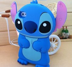 New 3D Blue Monster Stitch iPhone 5 Case Cover