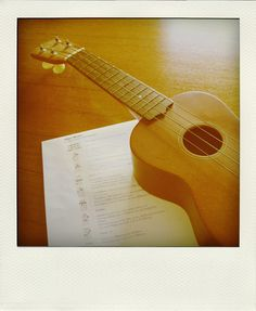 a little ukulele.
