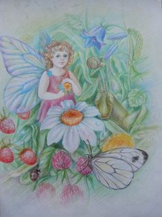 Мир детства. Цветные карандаши