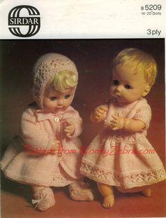 tiny tears doll knitting - Google Search