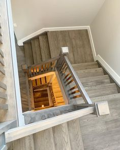 No job is too big or too small! . This staircase was done in hardwood complete with custom nosings to get the perfect match! . We use a local company for custom mouldings made out of the actual product so you always get the best look. . Custom mouldings can be done with laminate, hardwood and even vinyl! . . #yegflooring #yeghomedesign #yegnewhomes #yeginteriors #yeginteriordesign #yegcontruction #yeglocal #yeglocalbusiness Local Companies, Perfect Match, Hardwood, New Homes, Stairs, House Design, Posts, Flooring, Interior Design