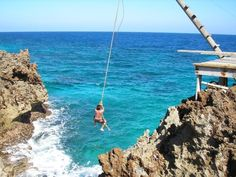 Rope Swing Roatan