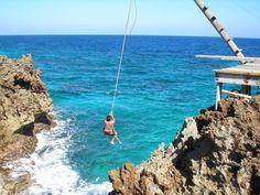 Rope Swing Roatan