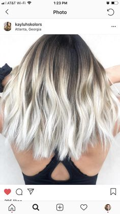 Summer hair color trends to know for from blonde to brunette, . - Summer hair color trends to know for from blonde to brunette, rose gold, … - Cool Blonde Hair, Hair Color For Black Hair, Cool Hair Color, Blonde Brunette, Summer Brunette, Black Roots Blonde Hair, Gold Blonde, White Ombre Hair, Brown Hair
