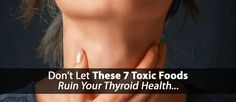 Discover seven commonly used foods to avoid with hypothyroidism and how they are endangering your thyroid health by suppressing your thyroid gland...