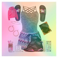 """""""Untitled #203"""" by kklbarnes on Polyvore featuring Pepper & Mayne, Accessorize, NIKE, Isabel Marant, Fremada, Nordstrom, Apple, HUF, Happy Plugs and H&M"""