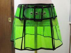 Lip Service Drastick Plastik Cyberpunk Gothic Rave Fifth Element Cosplay Skirt   eBay