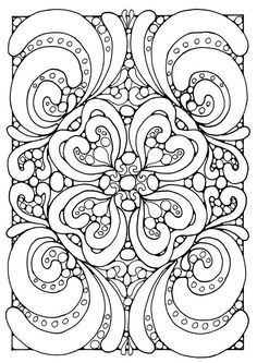 Paisley coloring page that would be an interesting embroidery pattern. Description from pinterest.com. I searched for this on bing.com/images