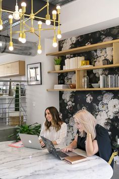 Touring The Bold Office Of Create & Cultivate | Glitter Guide