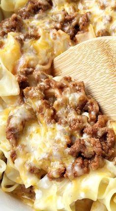 Creamy Beef Noodle Bake Order Zaycon Fresh here: https://www.zayconfresh.com/?utm_source=pinterest.com&utm_medium=zaycon&utm_term=8242015&utm_content=post&utm_campaign=139