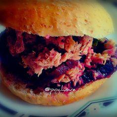 Twitter / pochove: sandwich de remolacha y atun ...