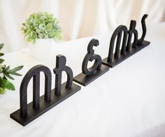 Items similar to Mr Mrs Wedding Signs Gatsby Art Deco Style Sweetheart Table Centerpiece Decor Custom Great Gatsby Wedding Decorations (Item - on Etsy Art Deco Wedding Decor, Engagement Party Decorations, Wedding Reception Decorations, Table Decorations, Gatsby Decorations, Great Gatsby Wedding, Mr And Mrs Wedding, Flapper Wedding, Glamorous Wedding