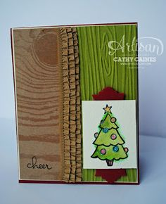 Stampin' Up! Christmas by In The Cat Cave: Artisan Wednesday Wow: Color Me Happy
