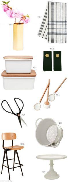 Wish List: Pretty Kitchen Goods