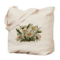 Daisies Victorian Vintage Che Tote Bag