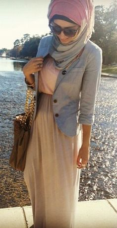 Love her #hijab style!