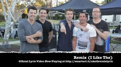 The link of their song 'Remix' / NKOTB