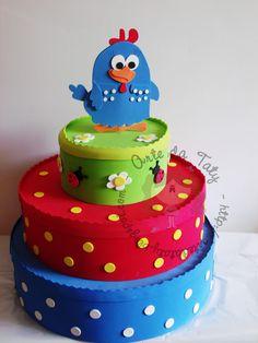 Falsa torta o porta cupcakes. X