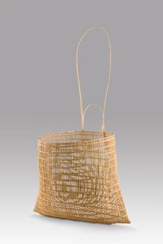 Abe Muriata, Jawun basket, 2005, lawyer cane, Art Gallery of South Australia