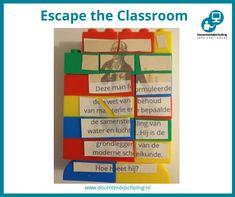 Training Escape the Classroom In een Escape the Classroom lost een groepje leerlingen een aantal spannende puzzels op. Ondertussen wordt er van alles geleerd; letterlijk spelenderwijs leren. Escape the Classroom is er voor alle leeftijden, niveaus en over elk denkbaar onderwerp. Je leerlingen krijgen er enorm veel leerplezier van! #scheikunde #escapetheclassroom #kraakdecode #escaperoompuzzels #informeelleren Escape Room Diy, Escape The Classroom, Breakout Boxes, Escape Room Puzzles, Kids Toy Store, Teaching, Blue Prints, Kid, Yard Haunt